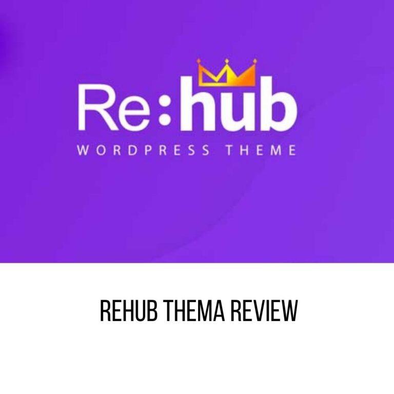 REHub Thema Review