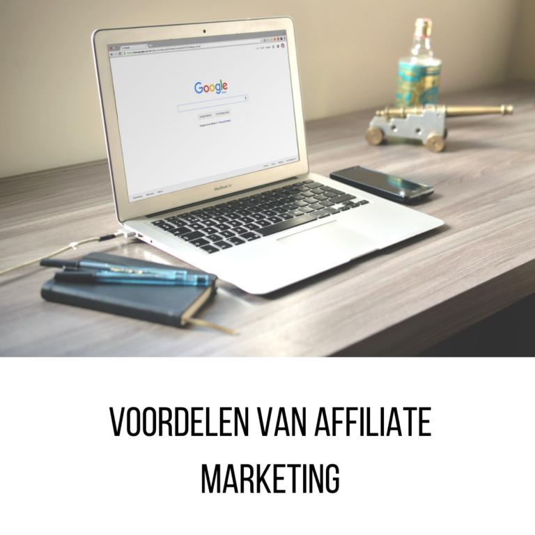 7 voordelen van Affiliate Marketing